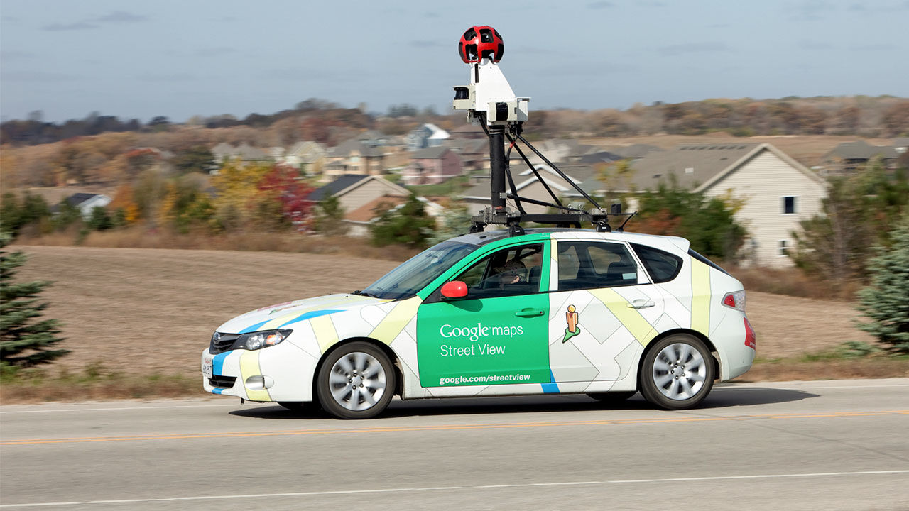 virtual reality google car