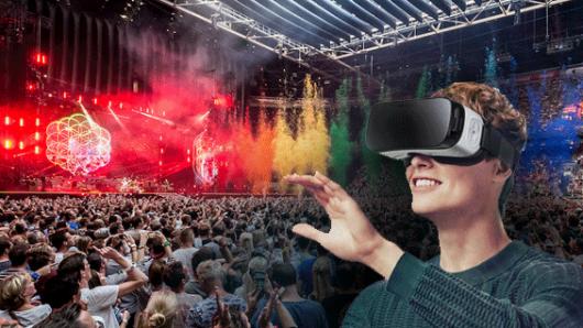concierto en realidad virtual