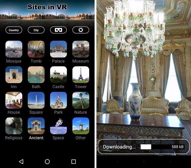 apps de realidad virtual