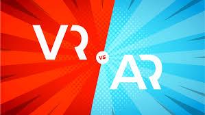 Realidad aumentada ejemplos vr vs ar