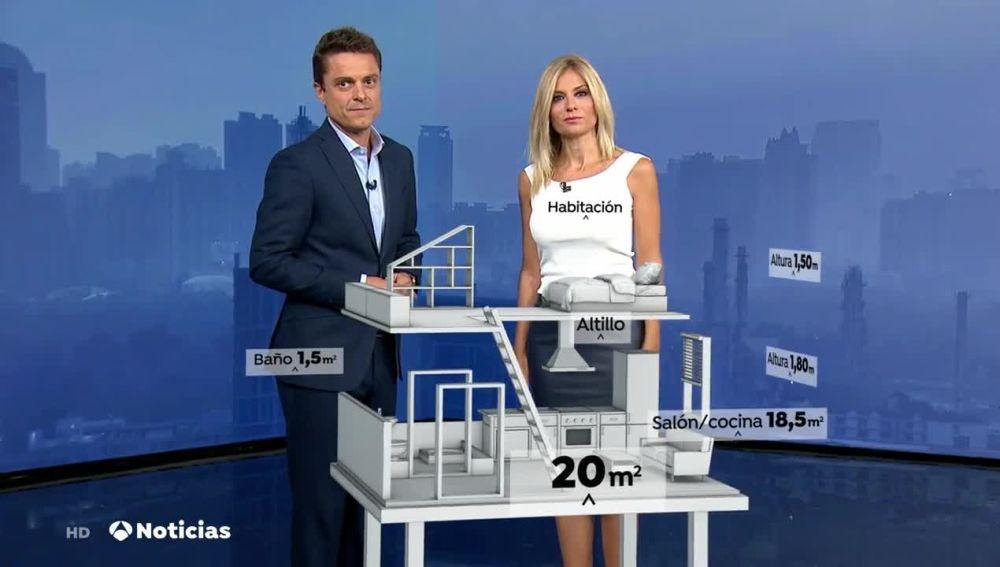 realidad aumentada en telediarios de antena 3