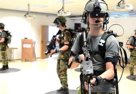 entrenamiento militar realidad virtual