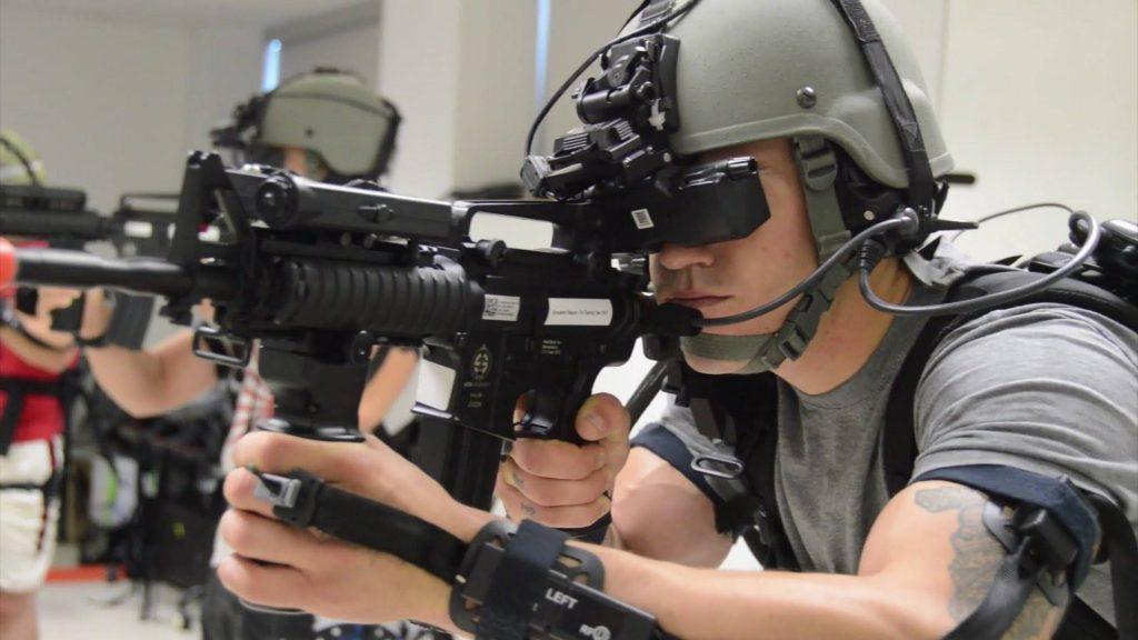 entrenamiento militar usa realidad virtual