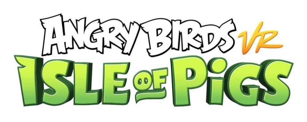 angry birds realidad virtual nuevo juego