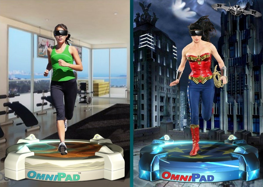OmniPad realidad virtual