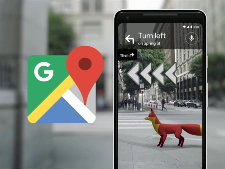 Google Maps mapas con realidad aumentada