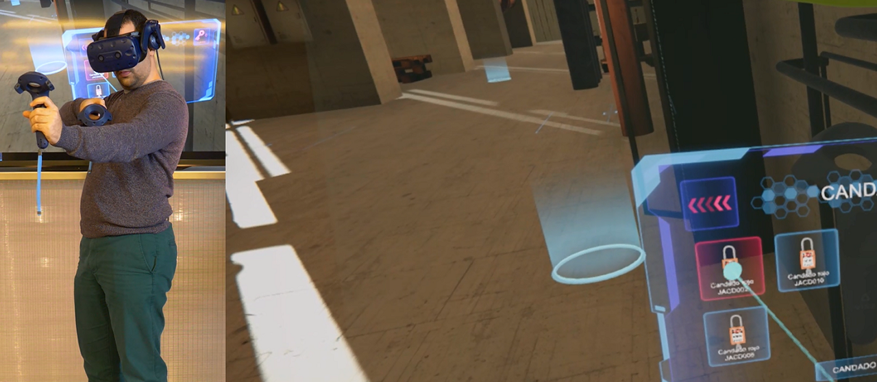 realidad virtual para la formación en seguridad