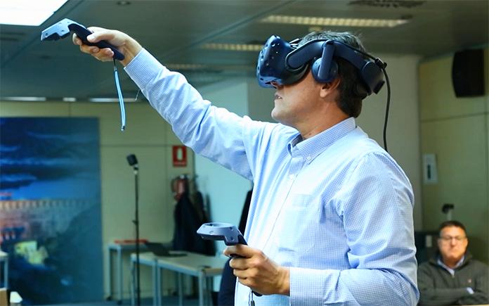 realidad virtual para la formación ENDESA