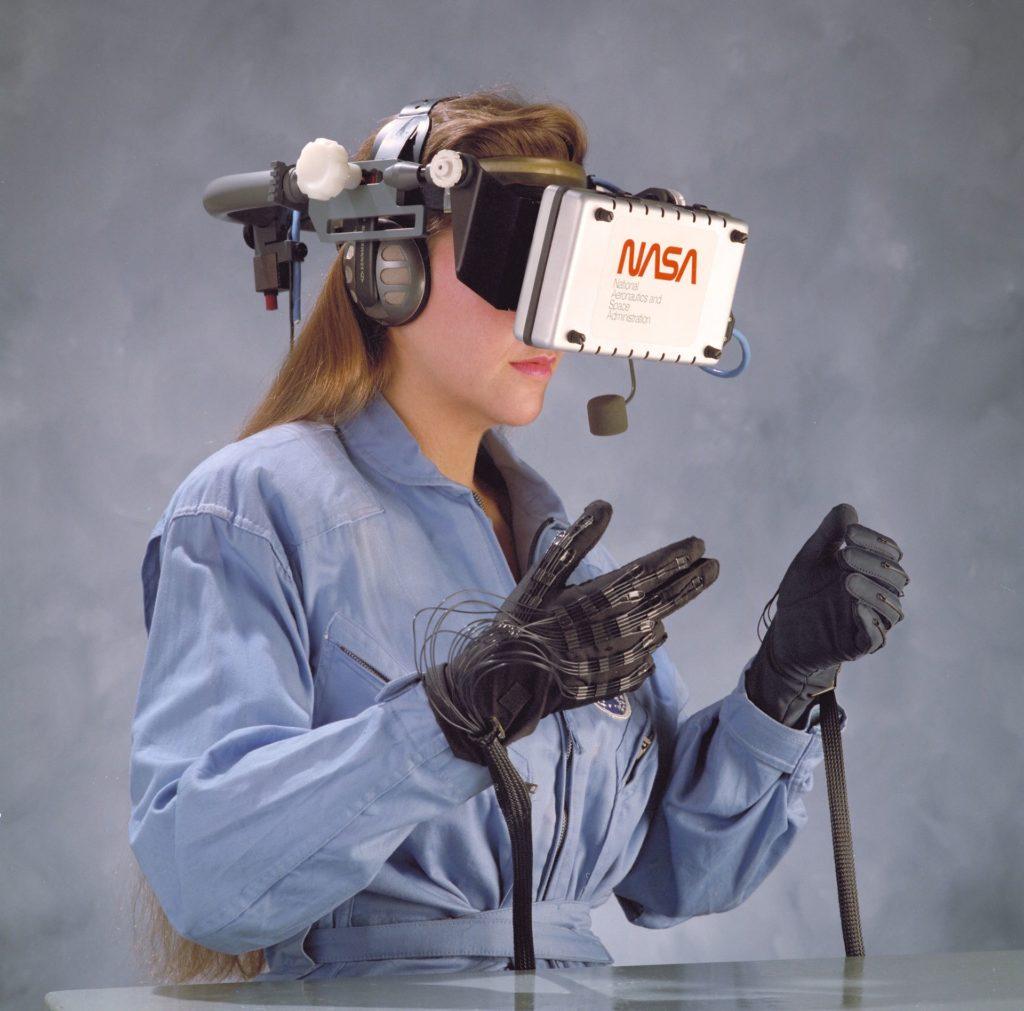 la nasa desarrolla un viaje de realidad virtual