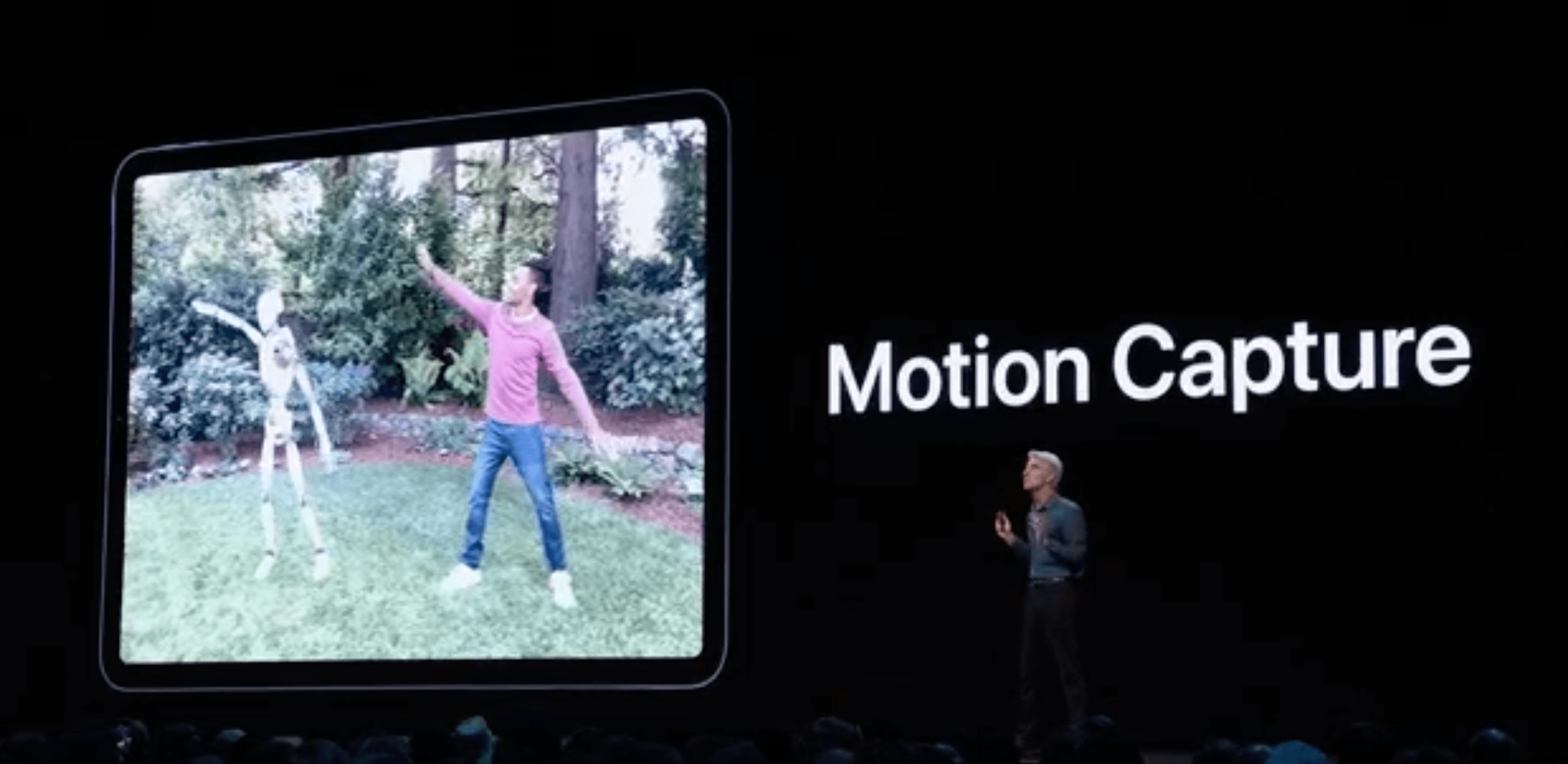 Captura de movimiento en iOs 13