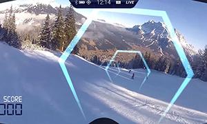 Realidad virtual para practicar esquí