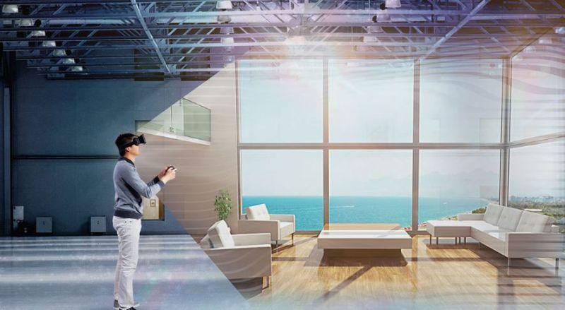 realidad virtual aumentada arquitectura