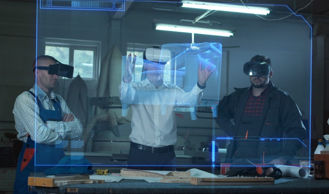 realidad virtual aumentada industrias