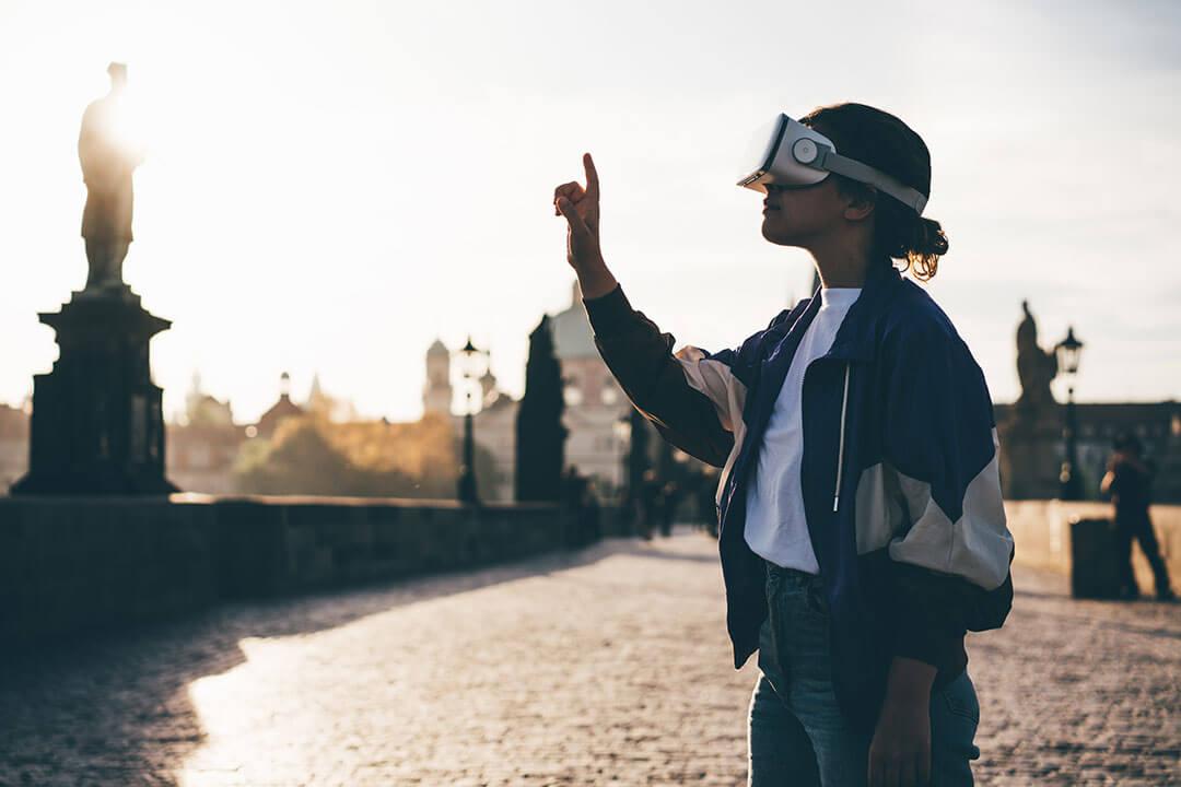 viajar con la realidad virtual en el turismo