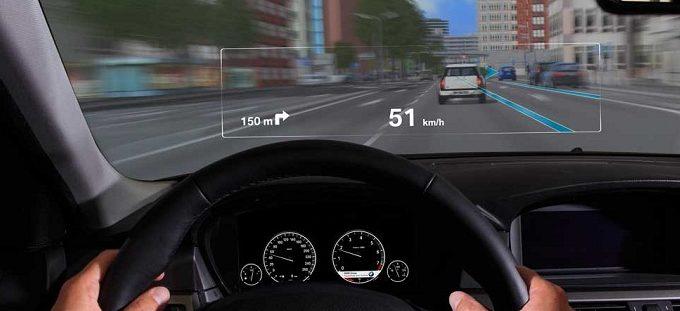 aplicación de la realidad aumentada en vehículos
