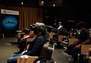 Gafas vr aplicadas a un concierto virtual