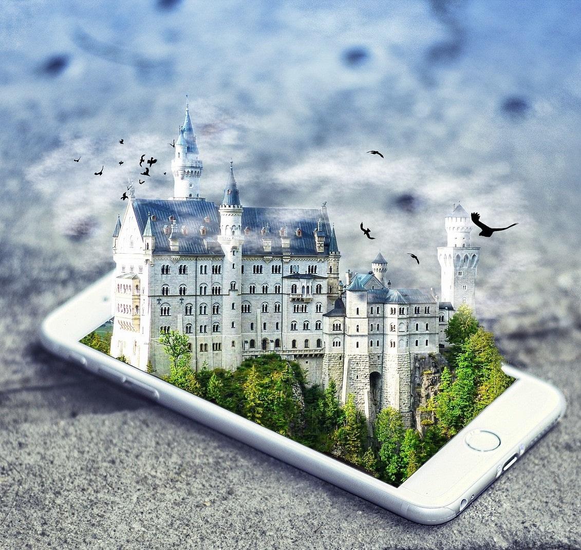 viajar desde casa un mundo virtual realidad virtual
