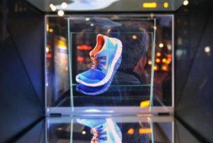 Publicidad con hologramas: Holograma de Nike