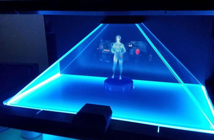 Publicidad con hologramas