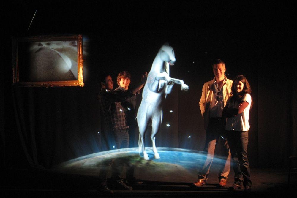 hologramas: Holograma de un animal